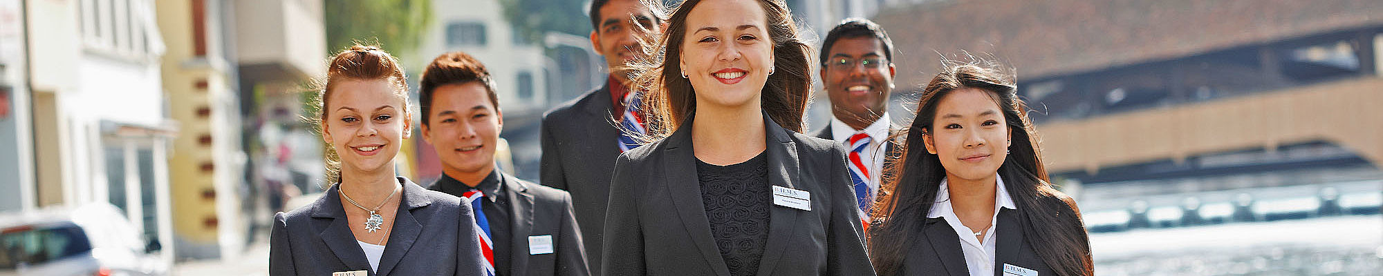 Admission for the study of hotel management at B.H.M.S.